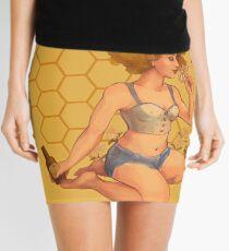 Honey Blonde Ale Pinup Girl Mini Skirt