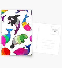 Sexualität Wale (und Aromanatee) Muster Postkarten