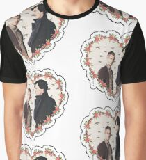HEARTED JOHNLOCK Graphic T-Shirt