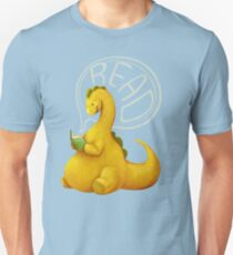 Even Dinosaurs Love to Read Unisex T-Shirt