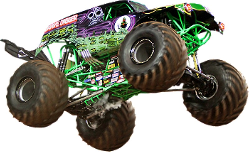 Monster Truck Wall Stickers Part - 18: Monster Truck #1 By Snellejelle