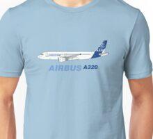 Airbus A320 Illustration Unisex T-Shirt