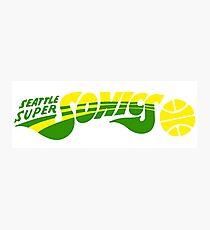 DEFUNCT - SUPER SONICS Photographic Print