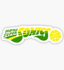 DEFUNCT - SUPER SONICS Sticker