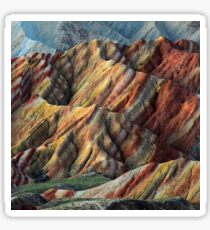 Rainbow Mountains Sticker
