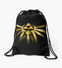 Out of the Darkness Drawstring Bag
