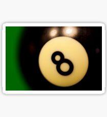 8 ball - eight ball Sticker