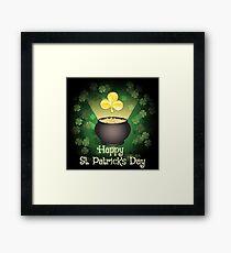 Happy Saint Patricks Day  Framed Print