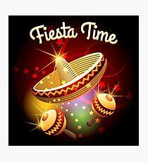 fiesta time theme Photographic Print