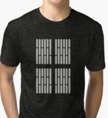 Death Star Lights Tri-blend T-Shirt
