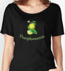 Pamplemousse French for Grapefruit Women's Relaxed Fit T-Shirt