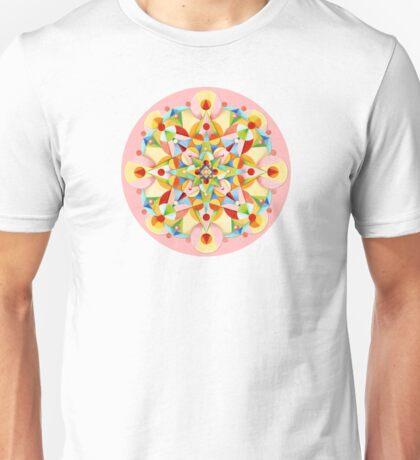 Pastel Carousel Pink Circle T-Shirt