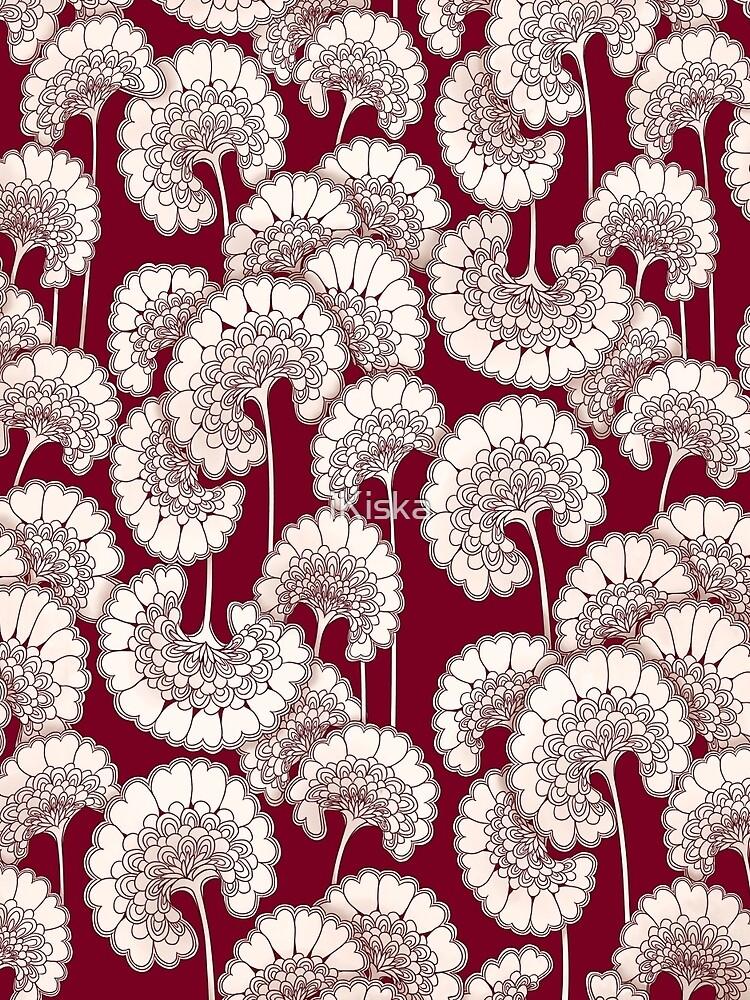 Florenz Broadhurst inspiriert Design - rot von iKiska