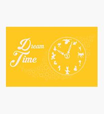 Dream time - Yellow Photographic Print