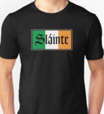 Slainte Irish Flag Unisex T-Shirt