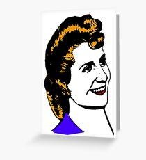"Eva ""Evita"" Perón-2 Greeting Card"