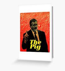 Ken Kratz - The Pig Greeting Card