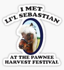 I Met Lil' Sebastian Sticker