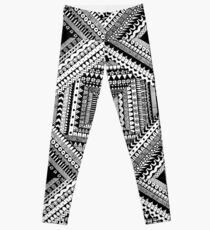 Tribal Origami Leggings
