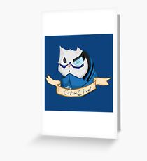 Cat Effect  Greeting Card