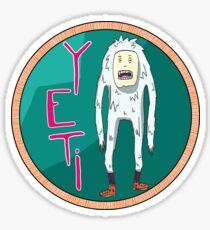 YETI STICKER Sticker