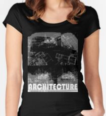 Architecture 2 Women's Fitted Scoop T-Shirt