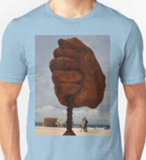 Big Fist,Sculptures By Sea,Sydney,Australia 2015 T-Shirt