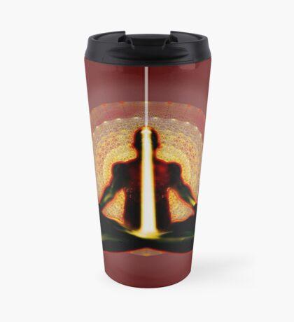 receiving light (meditator) Travel Mug