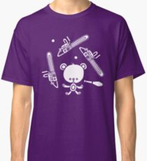 Cute Teddy Juggling 2 Balls, 3 Chainsaws and Club Classic T-Shirt