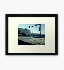 Street Corner (1) Framed Print