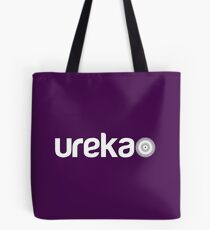ureka: earth heart community - logo (white) Tote Bag