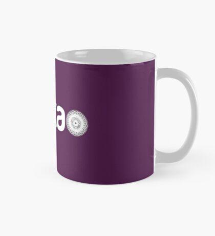 ureka: earth heart community - logo (white) Mug