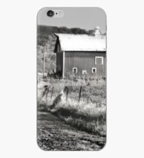 Barn along a Country Road iPhone Case