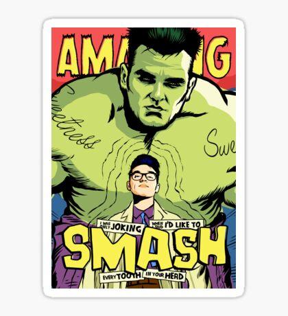 Post-Punk Smash Sticker