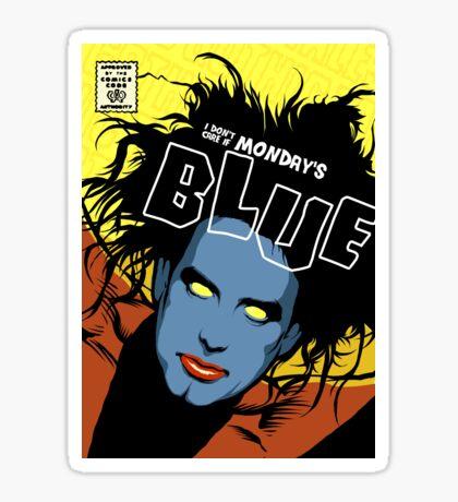 Post-Punk Blue Sticker