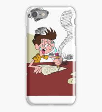 Spending All My Time Working on Animation Nonstop iPhone Case/Skin