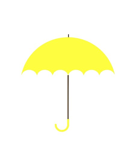 """Yellow Umbrella (HIMYM)"" Posters by WhichCrafts 
