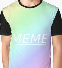 Meme Aesthetic Graphic T-Shirt