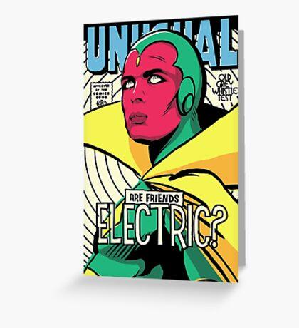 Post-Punk Electric Greeting Card