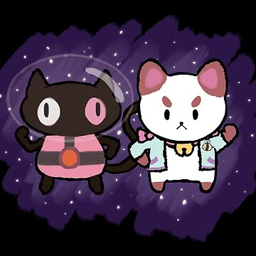 SPACE CATS! by supazombie