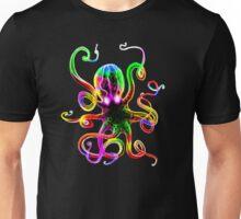 Rainbow Octopus Glow Unisex T-Shirt