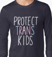 protect trans kids Long Sleeve T-Shirt