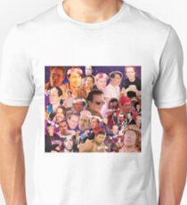Steve Buscemi Galaxy Collage Unisex T-Shirt
