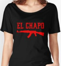 EL CHAPO Women's Relaxed Fit T-Shirt