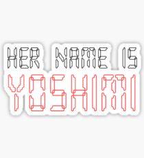Song Lyrics Sticker