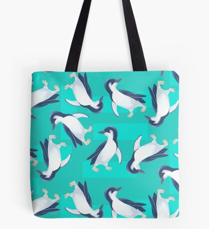 Cute Little Penguin Tote Bag