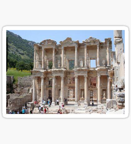 Ephesus Library Sticker