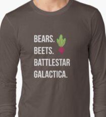 Bears. Beets. Battlestar Galactica. - The Office T-Shirt