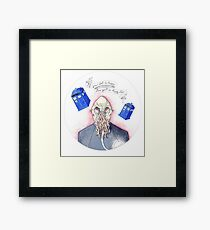 Doctor Who - Ood Framed Print