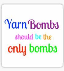 Yarn Bombs! Sticker